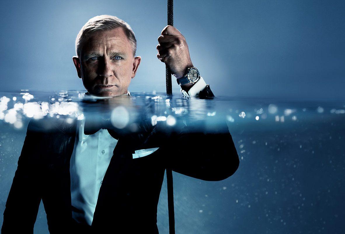 Omega形象大使丹尼爾‧奎格(Daniel Craig)拍攝最新形象廣告。