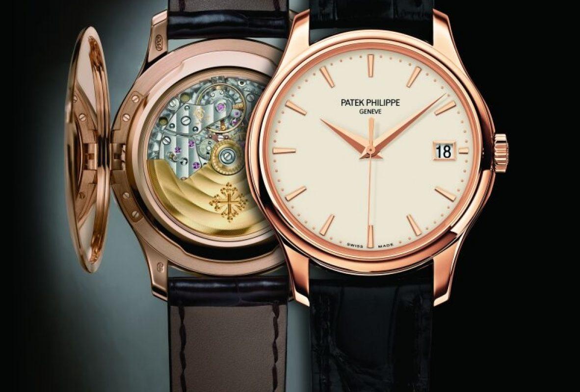 Calatrava Ref. 5227,18K玫瑰金錶殼,錶徑39毫米,324 S C自動上鍊機芯。