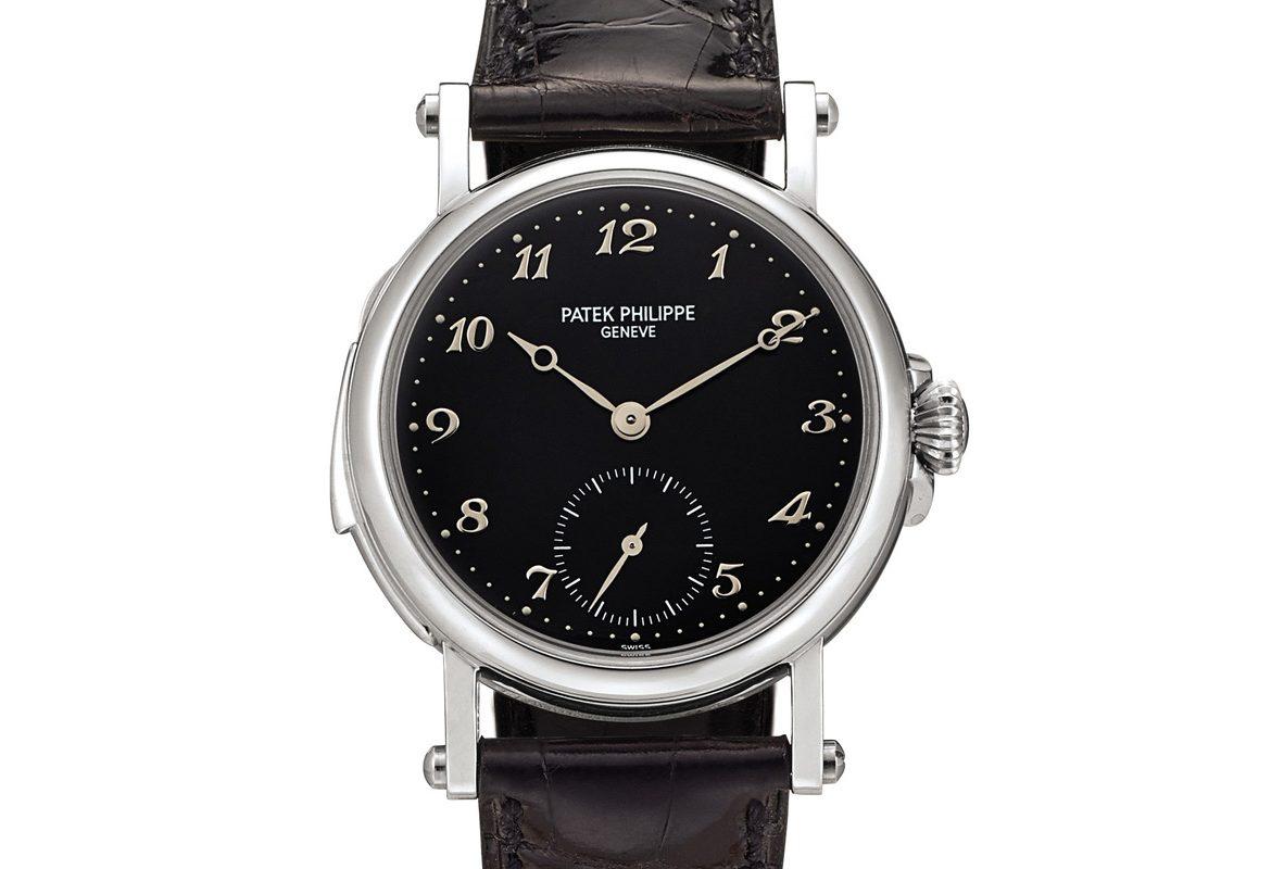 百達翡麗Ref. 5029限量版鉑金自動上鍊三問腕錶,為慶祝百達翡麗日內瓦製錶中心開幕而製,年份1997年,估價為3,500,000-5,000,000港元。