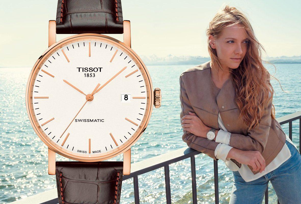 Tissot Everytime Swissmatic,參考價NTD 16,900。