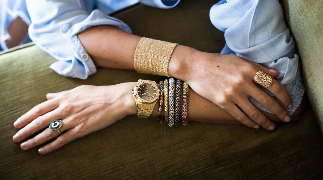 現代女性完美典範:愛彼皇家橡樹霜金腕錶Carolina Bucci限量版矚目登場