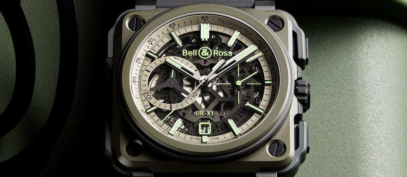 靈感來自隱形戰機:Bell & Ross BR-X1 Military