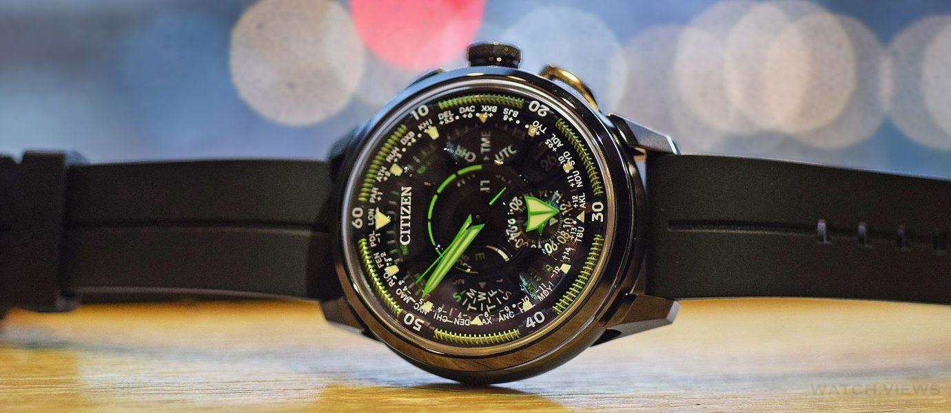【每週一錶】CITIZEN F990光動能GPS衛星對時腕錶