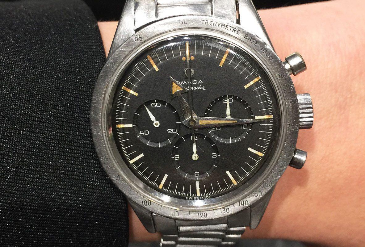 第一代Omega超霸腕錶。