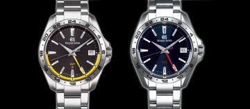 運動風格伴兩地時間:Grand Seiko 9F86全新石英機芯GMT腕錶