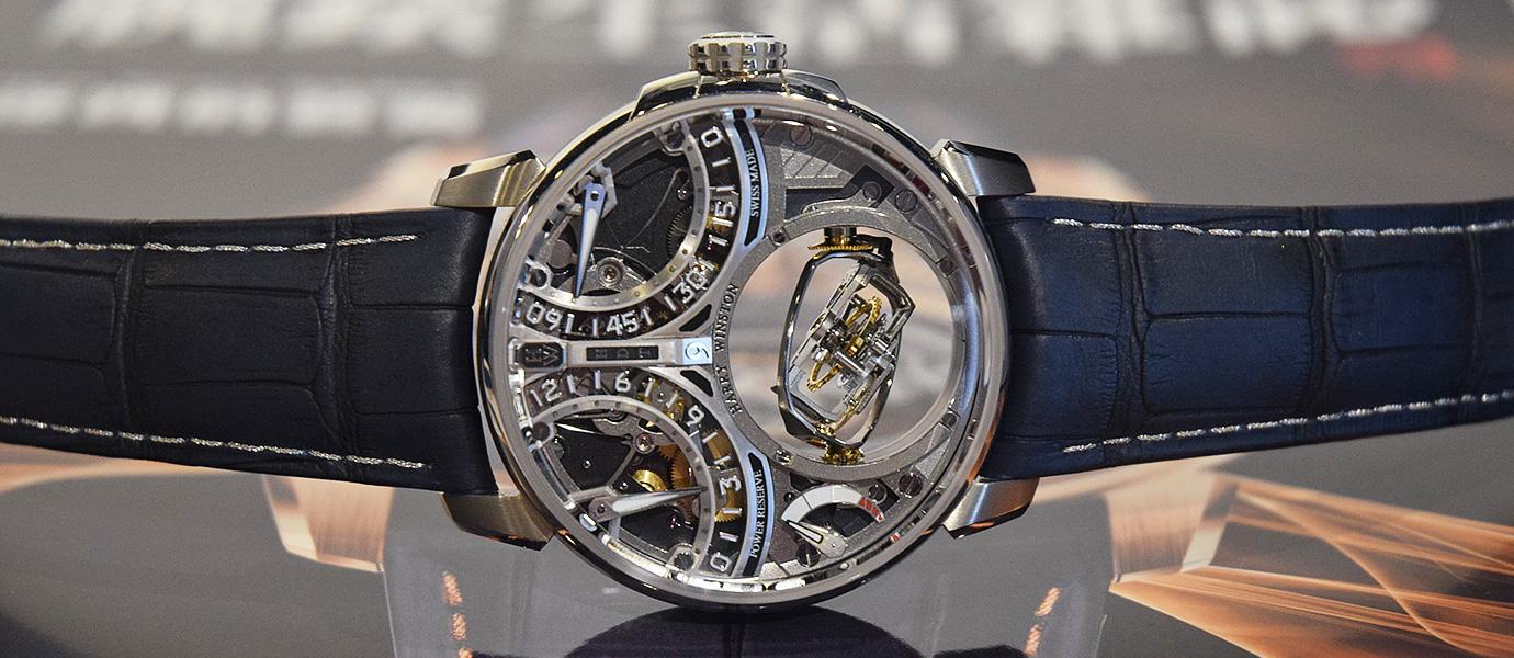延續史詩級鉅作:Harry Winston Histoire de Tourbillon 9 腕錶