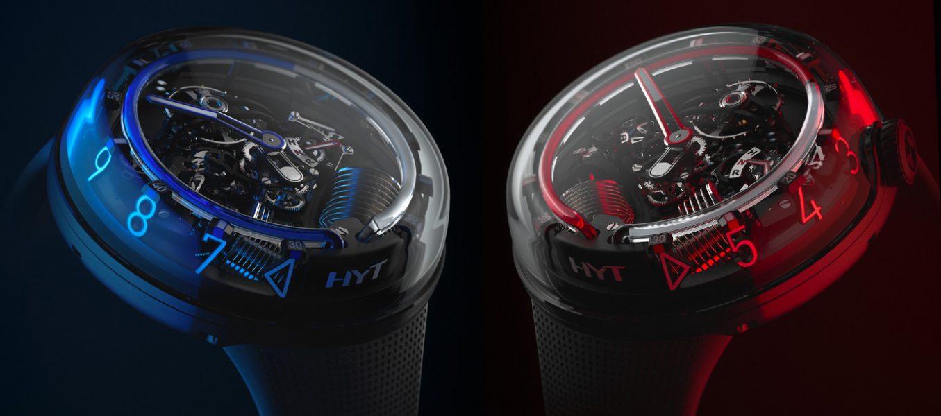 三維液體看時間:HYT H20腕錶