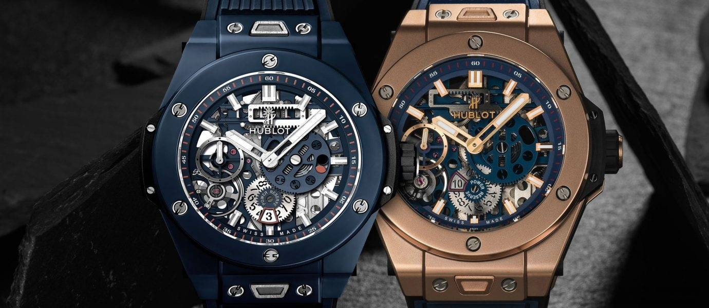 十日動力的強悍色彩:Hublot Big Bang Meca-10