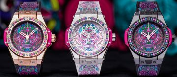 繽紛呈現亡靈節:Hublot Big Bang One Click Calavera Catrina腕錶
