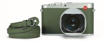 再現經典手寫標精神:徠卡相機發表全新限量版徠卡Q Khaki相機