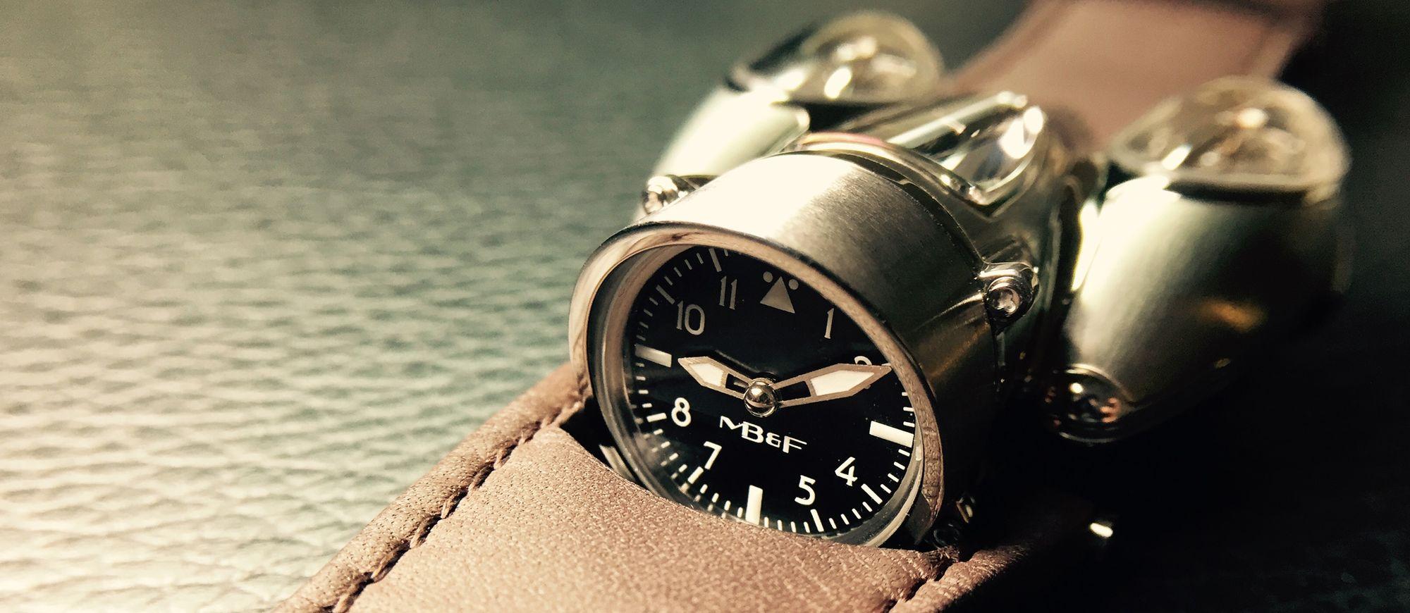 【每週一錶】MB&F Horological Machine No. 9:一只準備起飛的錶