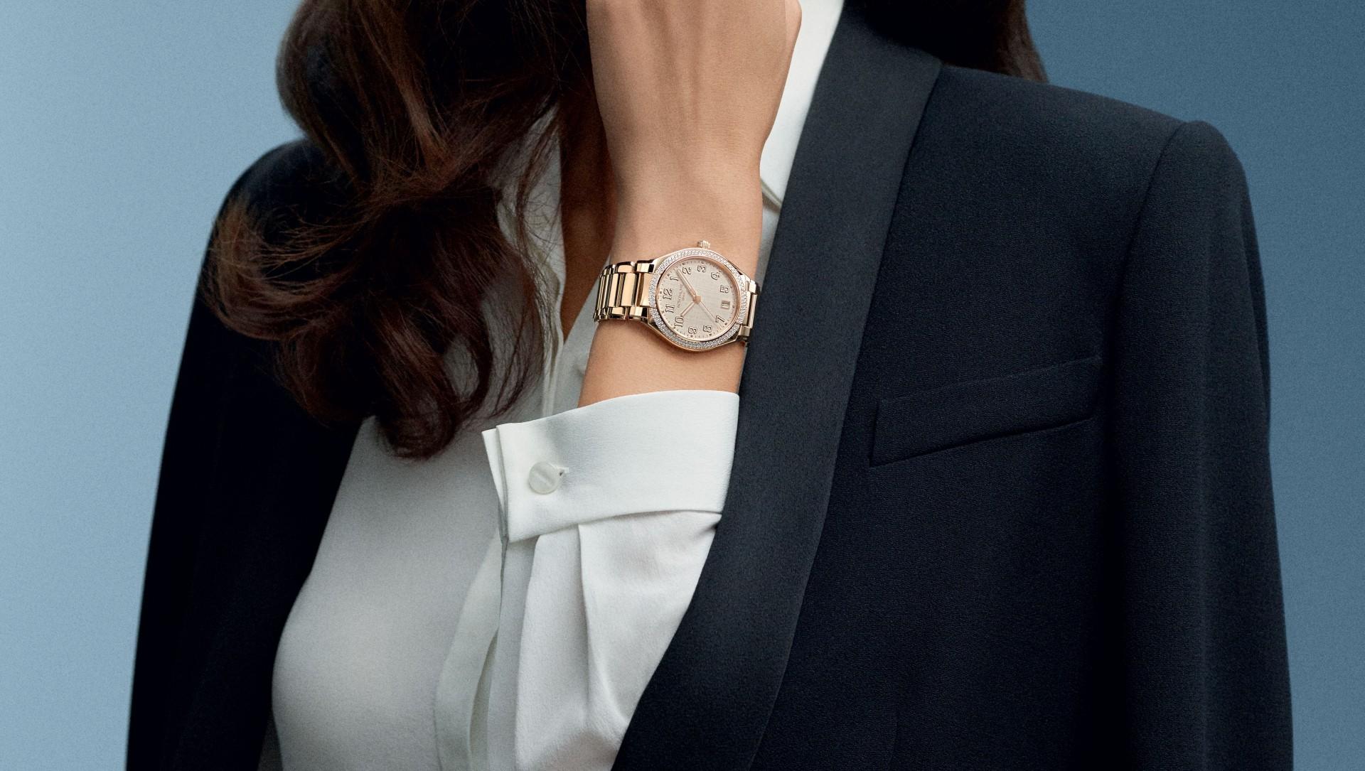 專為時尚自信的當代行動派仕女設計:百達翡麗Twenty~4 Automatic自動腕錶