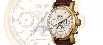 亞洲拍賣史上最貴腕錶誕生:蒂芙尼發行的Patek Philippe Ref. 2499破紀錄