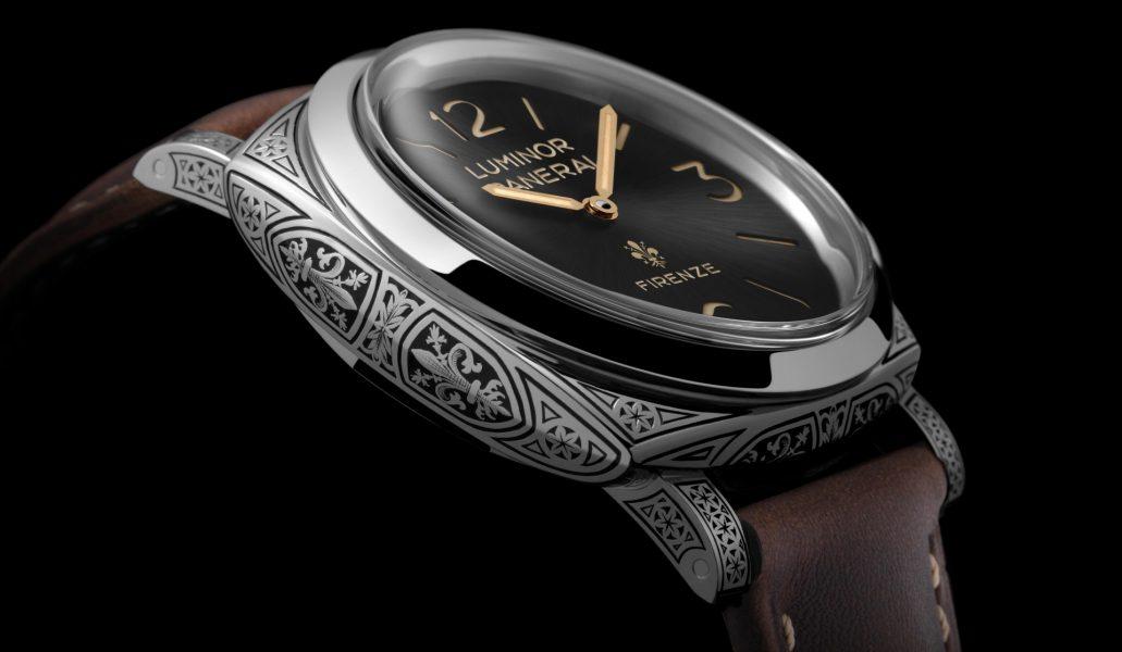 義式瑰麗雕飾:Luminor 1950 Firenze 3 Days Acciaio 三日動力儲存精鋼腕錶