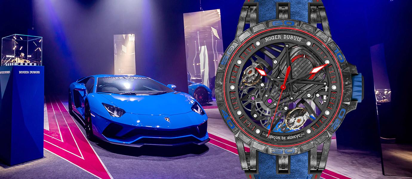 「既瘋狂又瑞士」:Roger Dubuis聯手Lamborghini帶來視覺震撼