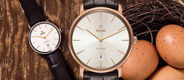 換季穿新衣:Rado Ceramos碳化鈦金屬超薄自動腕錶