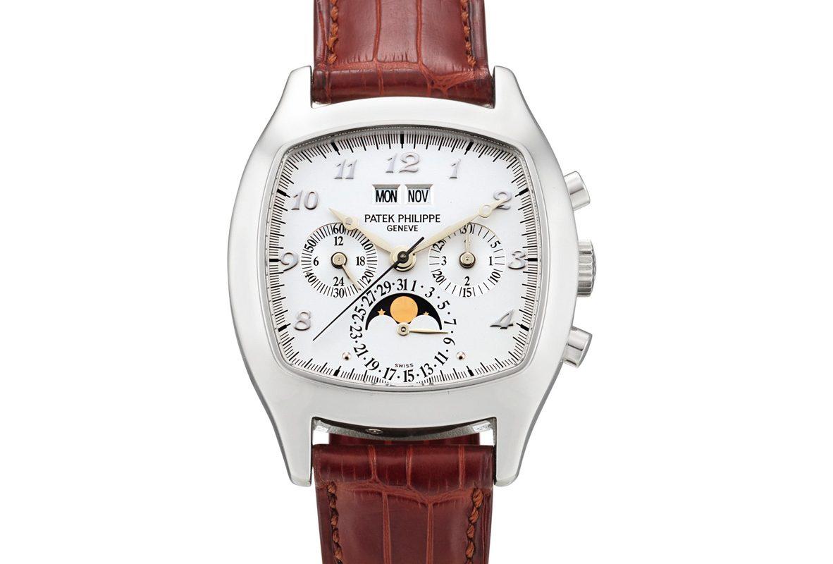 Patek Philippe Ref.5020腕錶,成交價為3,960,000港幣。