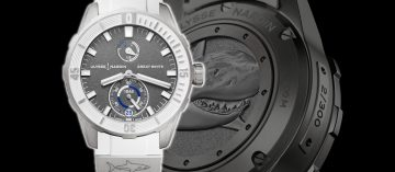 與大白鯊悠游海洋:Ulysse Nardin Diver Chronometer腕錶