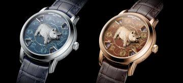 江詩丹頓藝術大師系列中國十二生肖傳奇之豬年腕錶