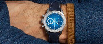攜手改裝巨擘前進電商平台:Zenith x BWD Chronomaster El Primero Solar Blue 38