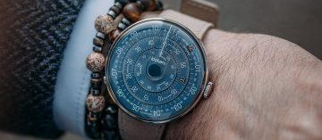 瑞法混血創意魂:Klokers Klok-01午夜藍腕錶