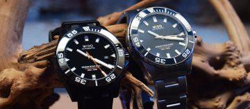 全面升級!Mido Ocean Star Diver 600M:首款陶瓷圈矽游絲潛水腕錶