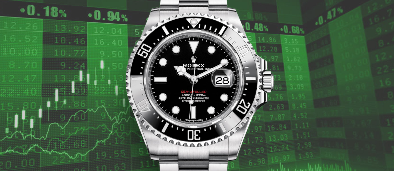 【錶語時事】台股最黑暗的一天:股王跌掉近一只Rolex Sea-Dweller!