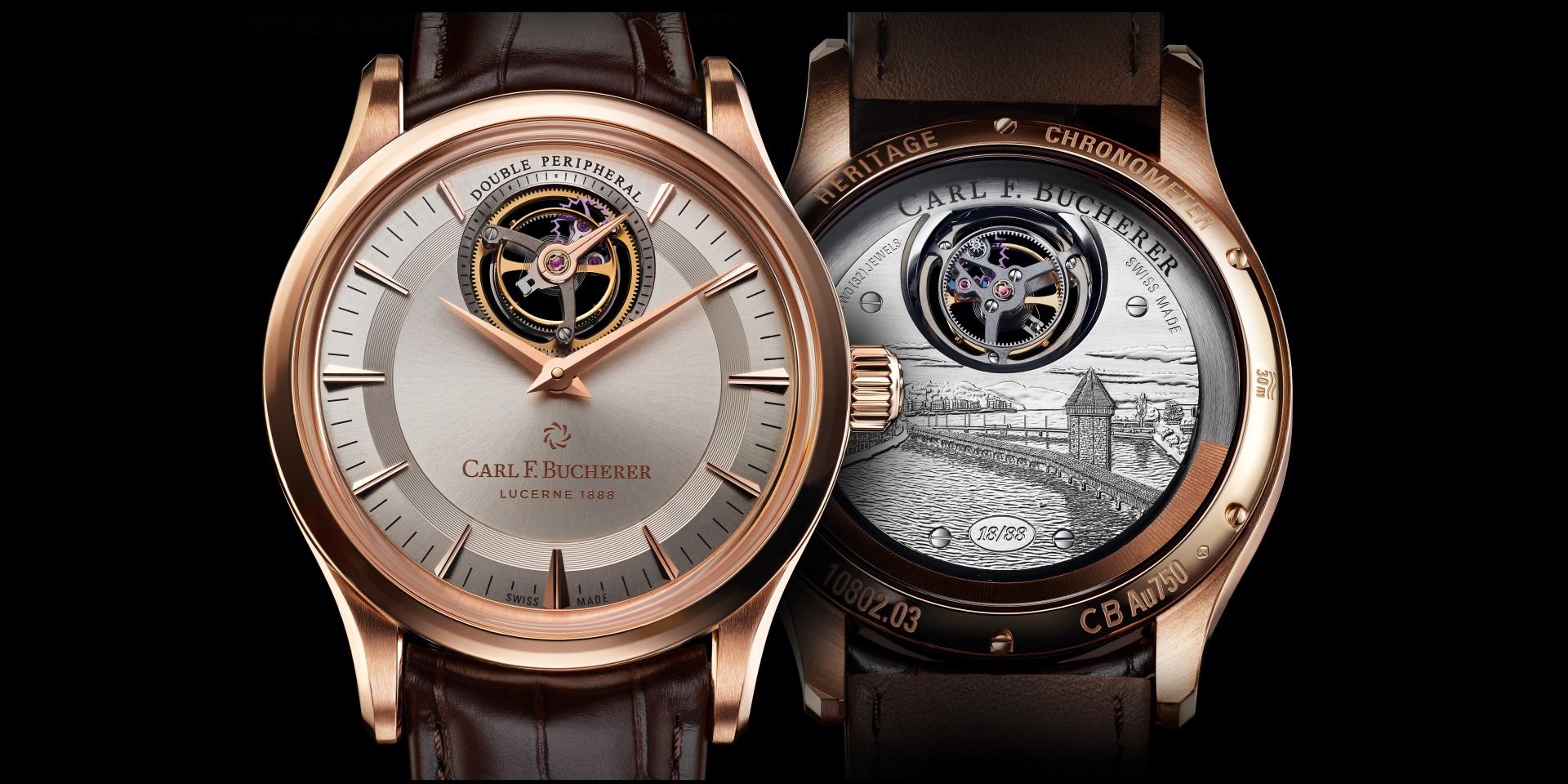 寶齊萊隆重推出Heritage Tourbillon Double Peripheral 傳承系列雙外緣陀飛輪限量腕錶