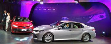 中大型房車銷售龍頭:純日Toyota Camry登台 106.9萬起搶市