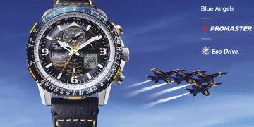 聯手菁英特技飛行隊:CITIZEN Blue Angels 腕錶