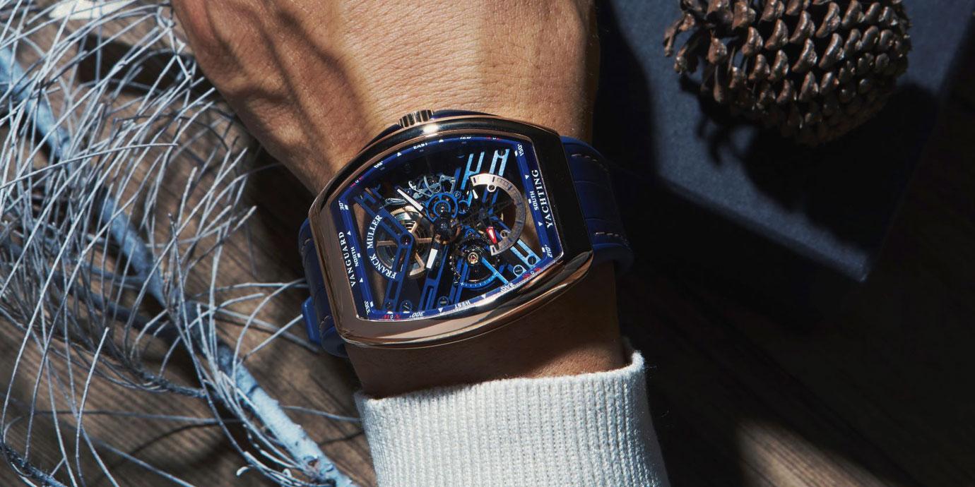 繽紛浪漫:Franck Muller聖誕錶款推薦