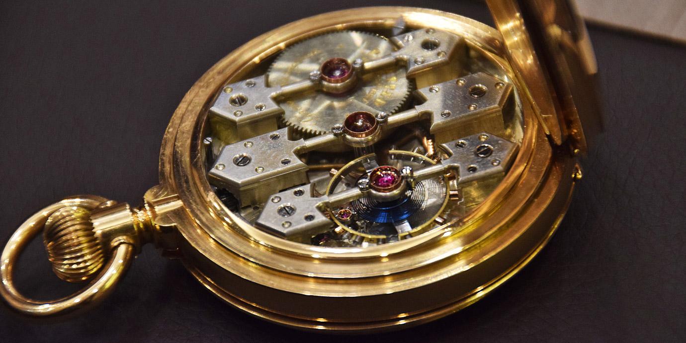 帶錶迷近距離鑑賞:Girard-Perragaux博物館珍藏懷錶抵台
