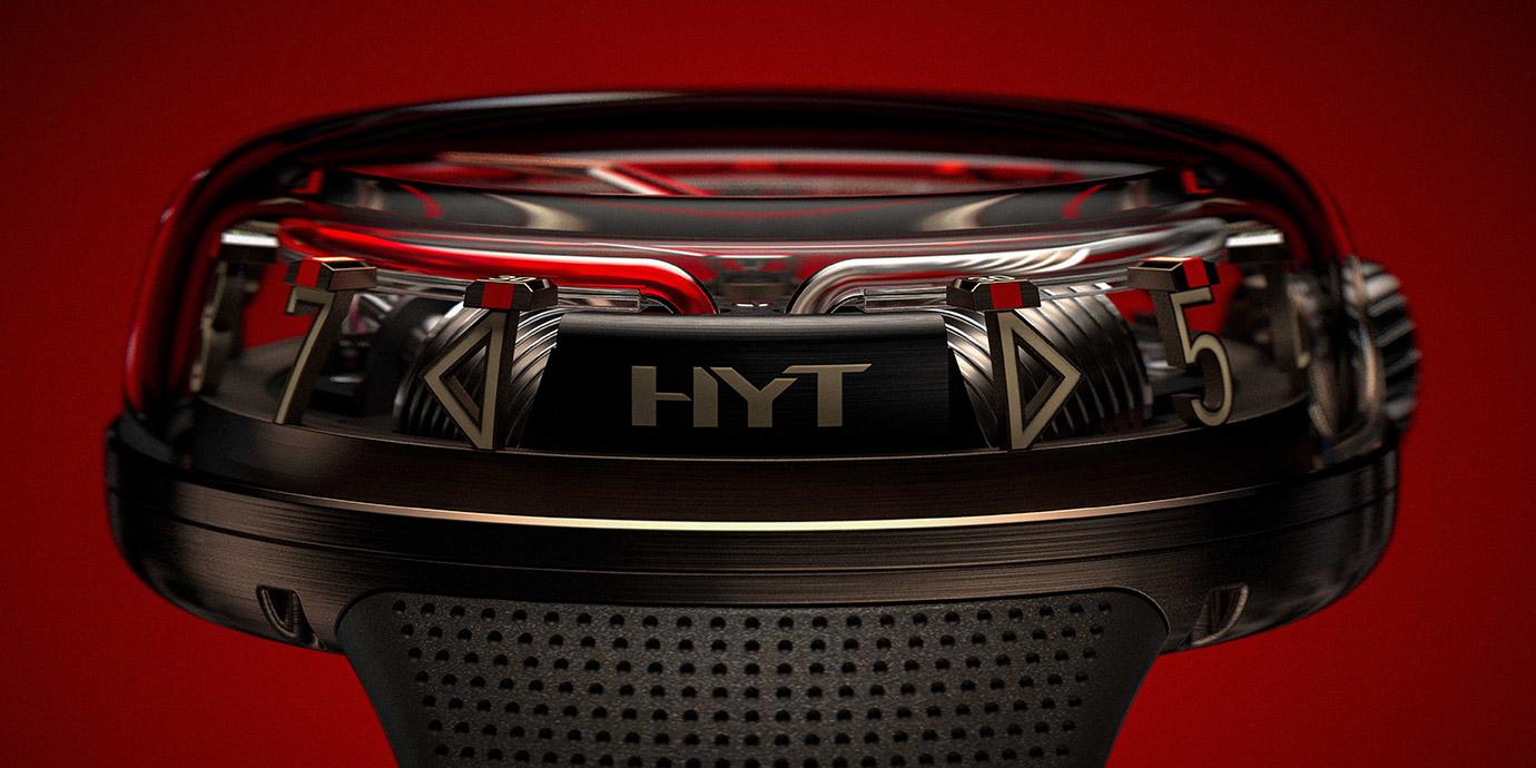 穿上棕色新衣:HYT H20腕錶