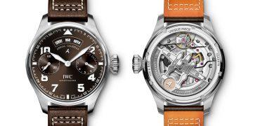 帶著白金飛上天:IWC大型飛行員年曆腕錶「聖艾修伯里」特別版