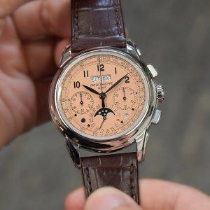 【每週一錶】誘人鮭魚面:Patek Philippe 5270P萬年曆計時碼錶