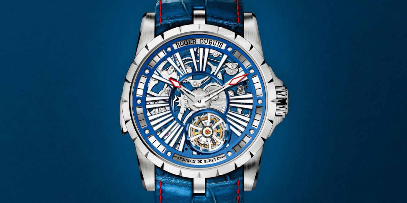 何謂超級腕錶? Roger Dubuis Excalibur Millésime來詮釋