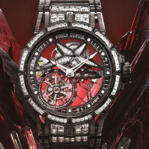 華麗、輕盈與精準:Roger Dubuis Excalibur Spider Ultimate Carbon