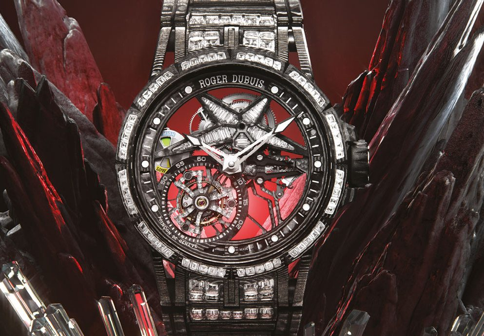 華麗、輕盈與精準:Roger Dubuis Excalibur Spider Ultimate Carbon