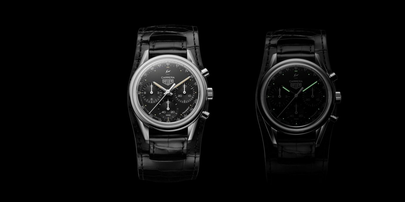 TAG Heuer發表Carrera Heuer-02 X 藤原浩Fragment聯名計時腕錶