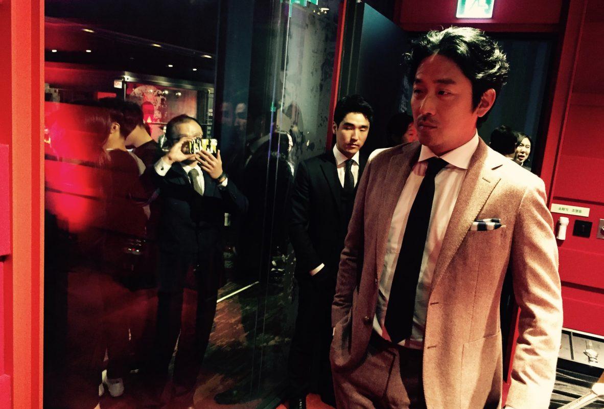 韓國影星河正宇親臨FIFTYSIX亞洲發表會。