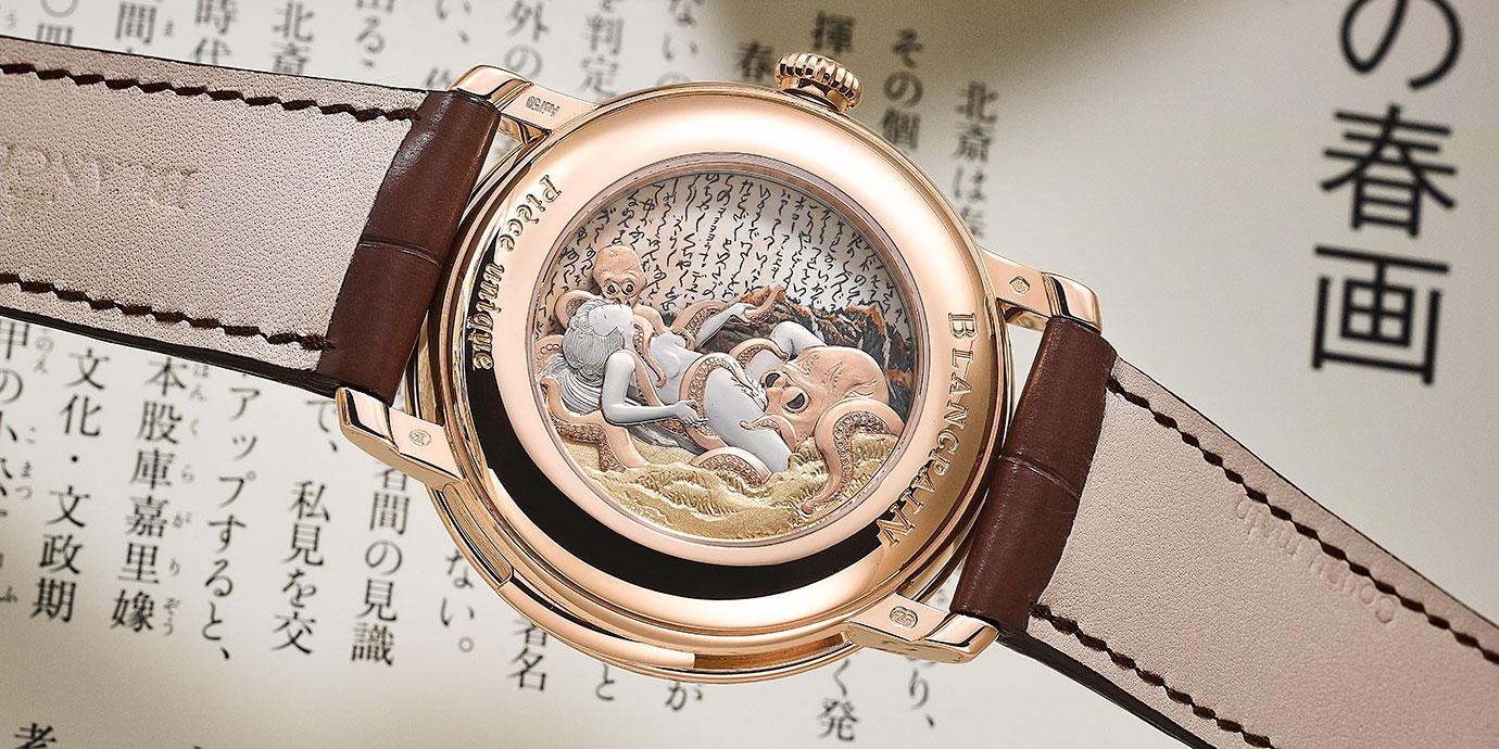 臉紅心跳:台灣藏家的Blancpain Villeret客製春宮三問錶