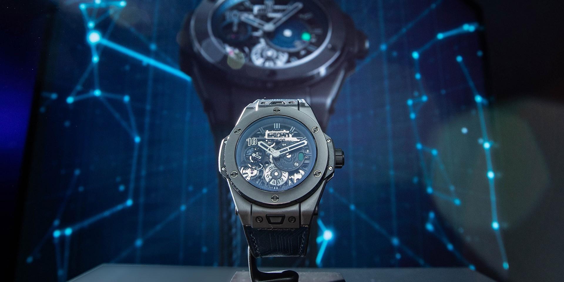 宇舶錶HUBLOT BIG BANG MECA-10 P2P 限量腕錶,僅限以比特幣購買