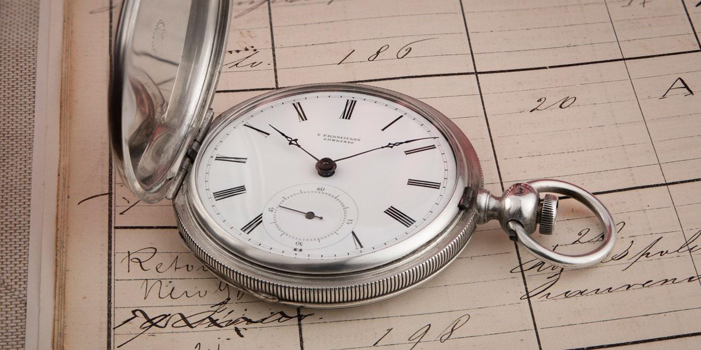 品牌最古老懷錶現身:Longines 183懷錶