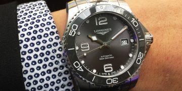 穿上陶瓷新衣的浪鬼:Longines HydroConquest全新腕錶