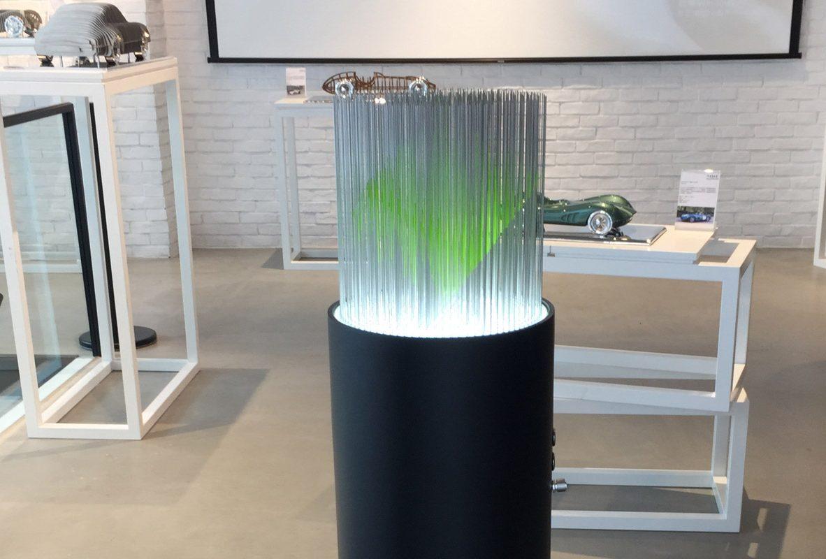 Kinetic Cube (Green) 限量8座,參考價NTD 340,000。