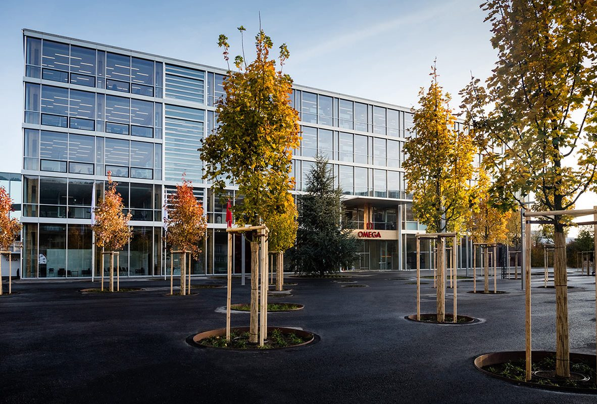 OMEGA最新工廠於2017年11月全新開幕。