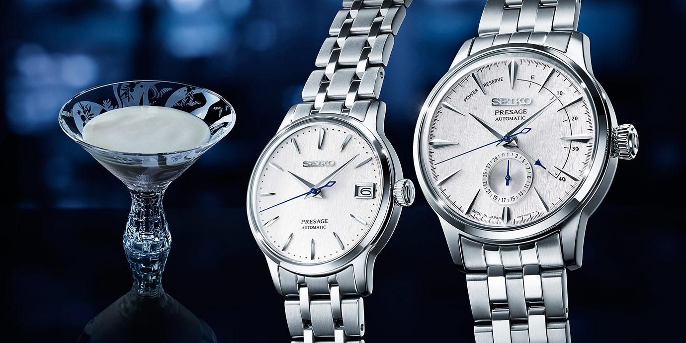 與調酒最搭:Seiko Presage新款腕錶