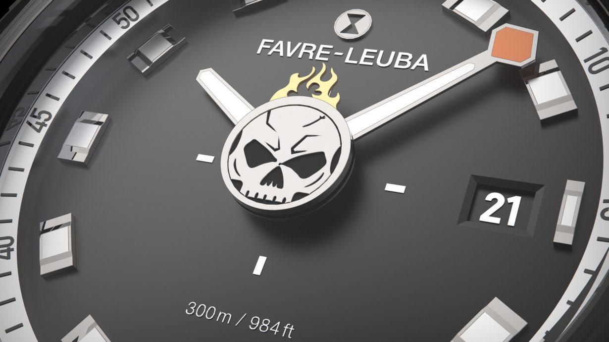 Favre-Leuba域峰282週年亞洲限量DeepBlue腕錶 搶先曝光