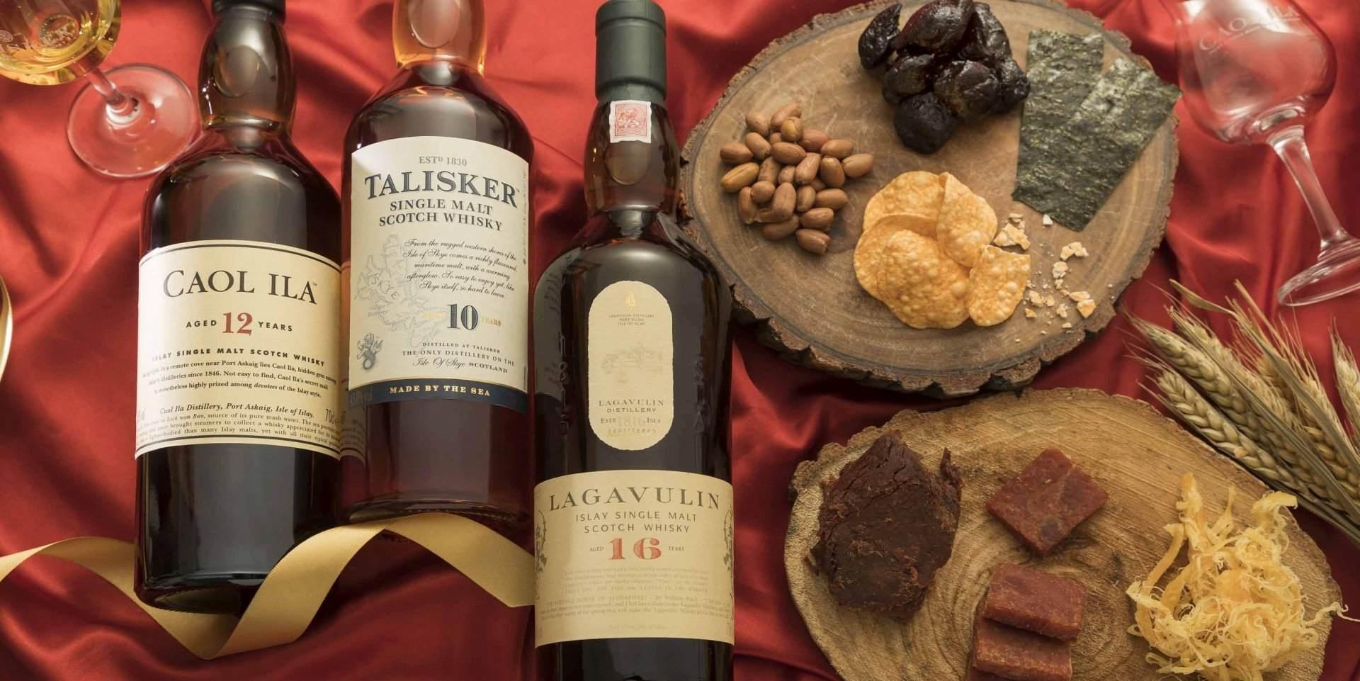 最「台灣味」的新春專屬組合:帝亞吉歐 Classic Malts系列單一麥芽威士忌
