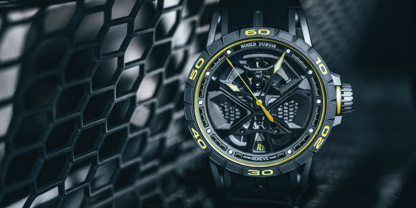 【Pre-SIHH 2019】與藍寶堅尼共奔馳:Roger Dubuis Excalibur Huracan Performante腕錶